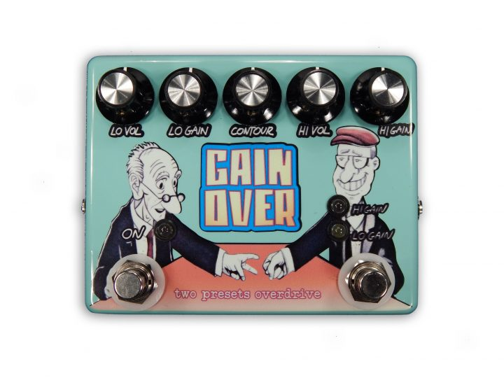 GAINOVER – two presets overdrive