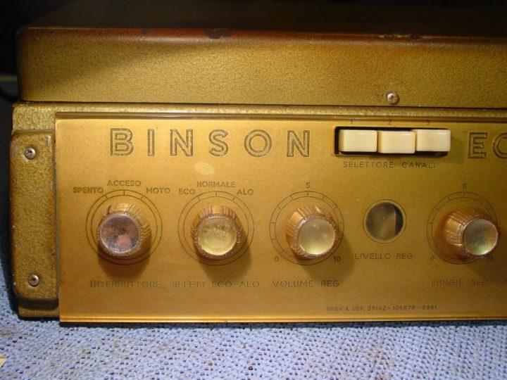 Binson Echorec 1st ver.