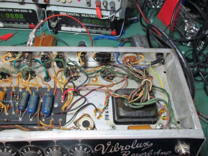 Fender Vibrolux Reverb Amp