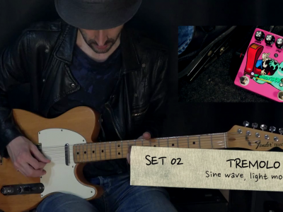 THE SMILIN'GHOST, dynamic tremolo percussion – TEFI Vintage Lab