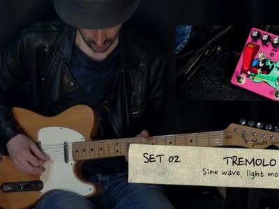 THE SMILIN'GHOST, dynamic tremolo percussion – TEFI Vintage Lab