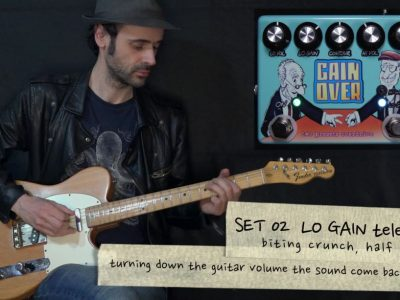 GAINOVER, dual presets overdrive – TEFI Vintage Lab