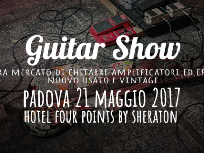 TEFI Vintage Lab al Guitar Show di Padova
