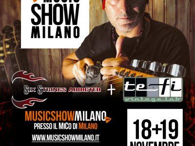 SHG MusicShow Milano 2017: un successo per TEFI Vintage Lab