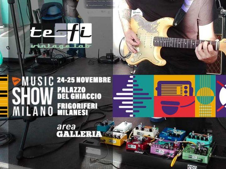 TEFI Lab al Music Show Milano 2018